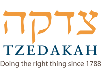 Tzedakah - Doing the right thing since 1788